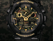 "Casio Camo Pack die zweite. ""Face Camo Pack"""