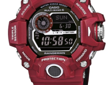 "Casio G-Shock ""Men in Red""GW-9400RD-4er und GW9300RD-4er"